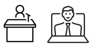Des cours dispensés en classe ou en web-classe